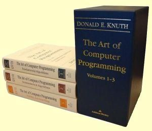 The Art of Computer Programming - Donald Knuth
