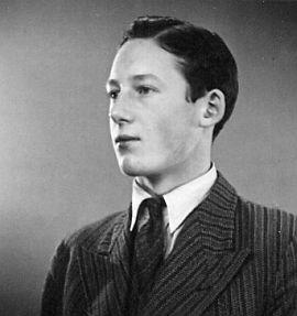 Min morbror Erik af Sillén som nybakad student 1936 - erik_1936