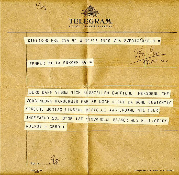roliga telegram födelsedag Liber 1945   1946 roliga telegram födelsedag