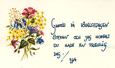 grattis på namnsdagen dikt Liber 1986 grattis på namnsdagen dikt