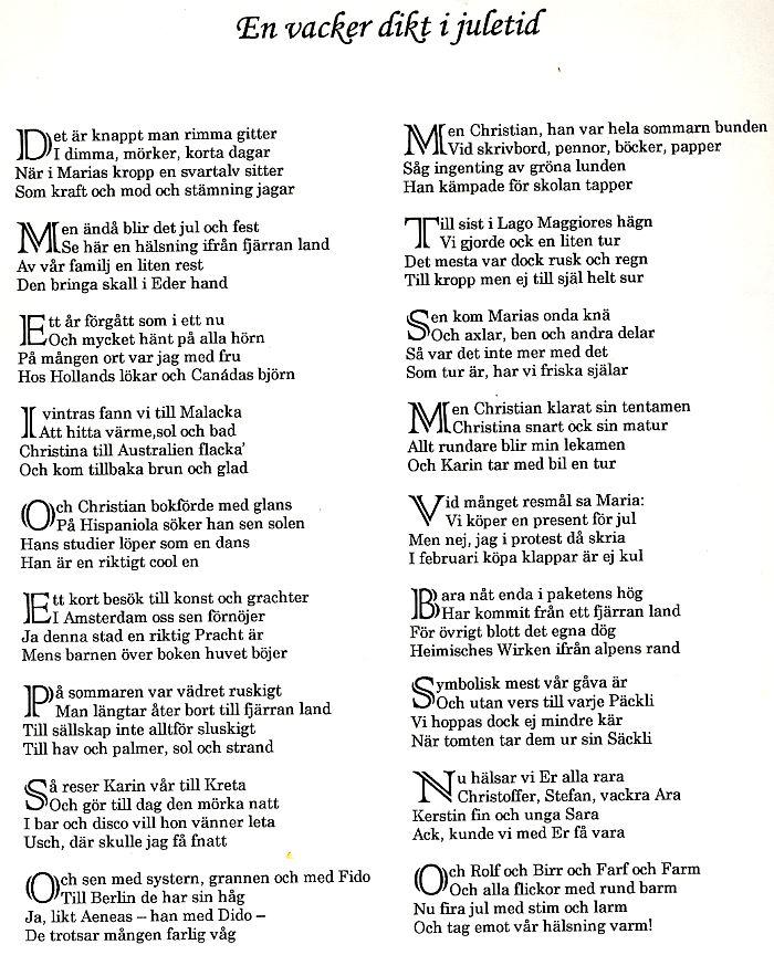 dikter till begravningsannonser